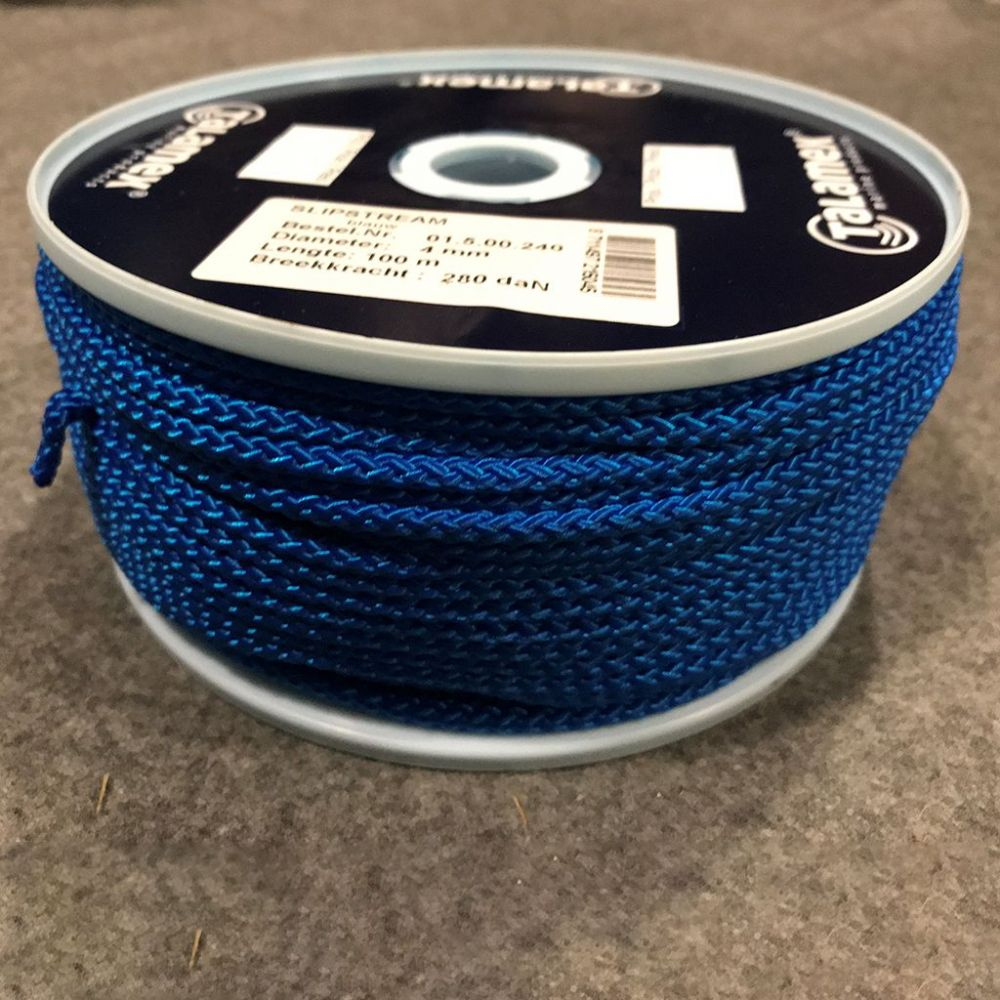 Blue 4mm Polypropylene Slipstream Cord